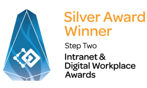 Step Two Digital Workplace Silver Award logo