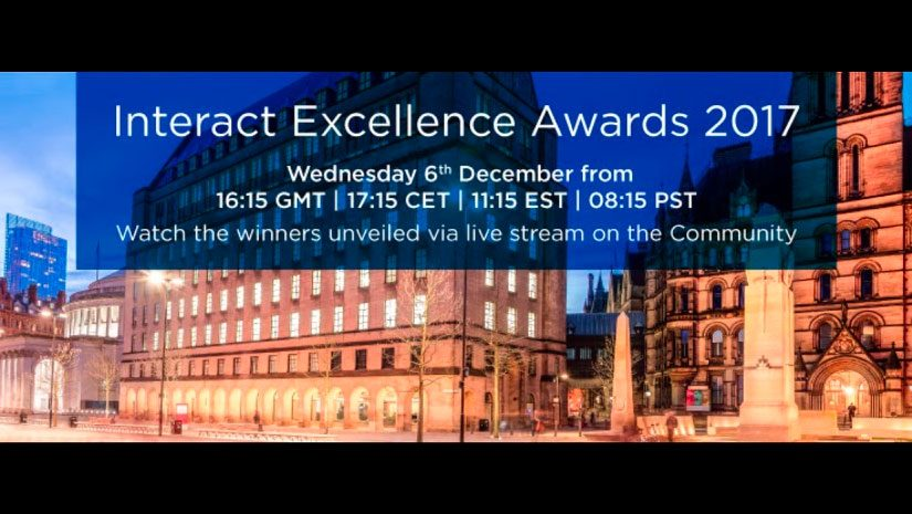 Interact awards invitation